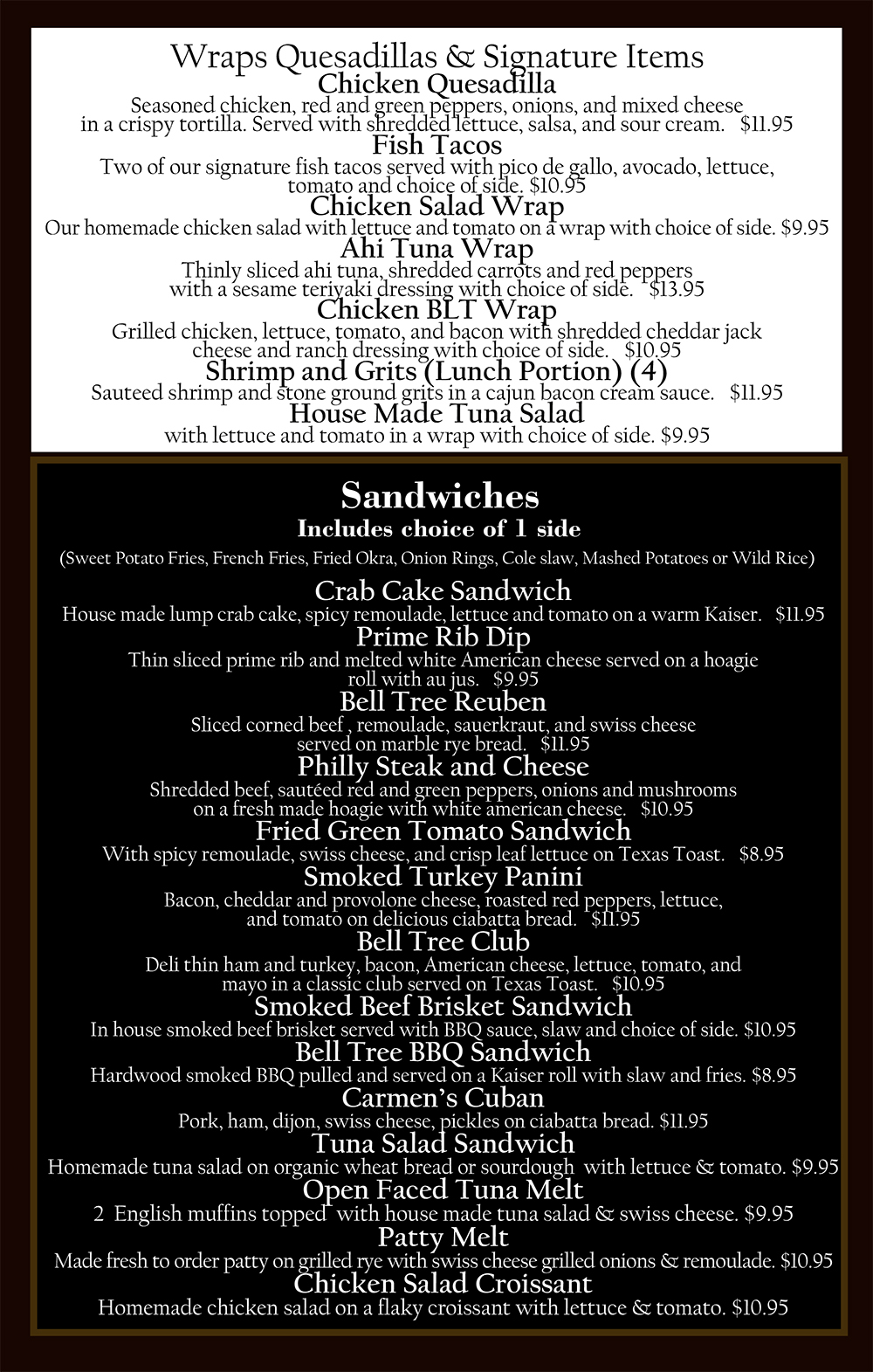 belltree menu2019 3